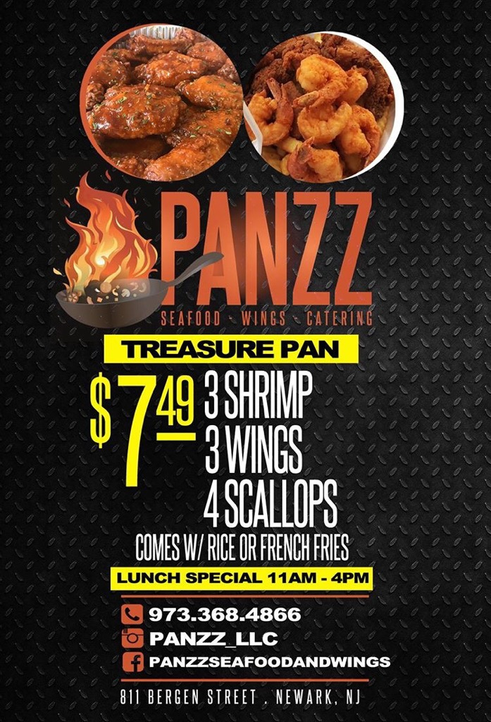 Panzz Seafood & Wings - Lunch Special